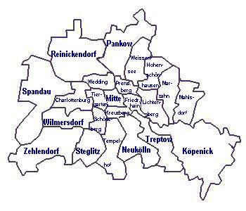 Berlinkarte Berlin Karte